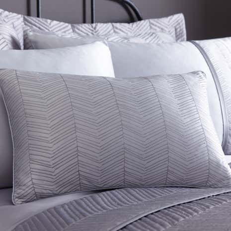Owen Grey Boudoir Cushion