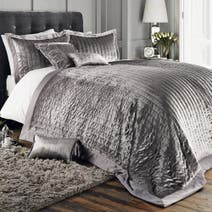 Pewter Oxford Bedspread