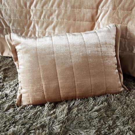 Oxford Champagne Boudoir Cushion