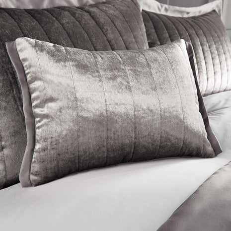 Oxford Pewter Boudoir Cushion