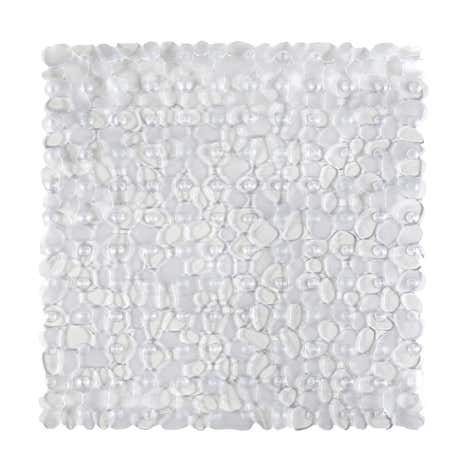 Pebbles Clear Shower Mat