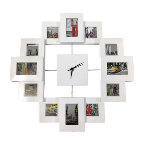 Photo Frame Wall Clock