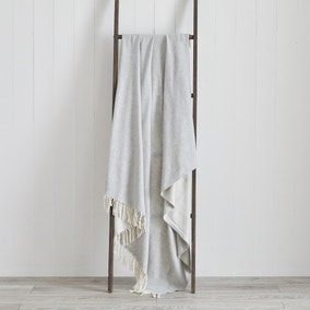 Plain Woollen Throw