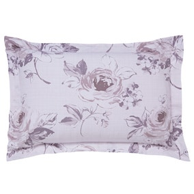 Pretty Vintage Charcoal Oxford Pillowcase