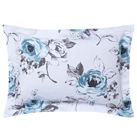 Pretty Vintage Duck Egg Oxford Pillowcase