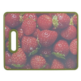 Printed Strawberry Chopping Board