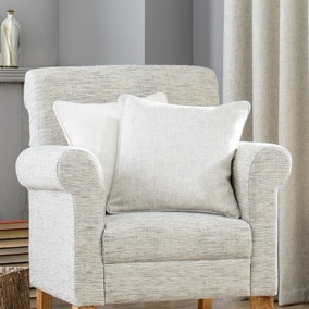 Purity Grey Square Cushion