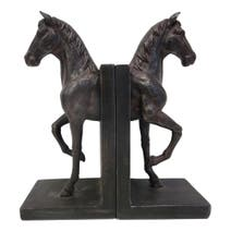 Brown Horse Bookends