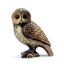 Pewter Owl Ornament