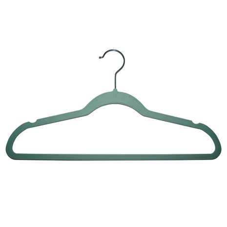 Set of 10 Flocking Hangers