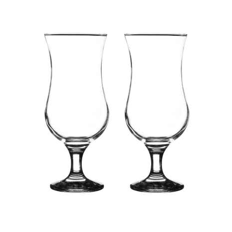 Set of 2 Pina Colada Glasses
