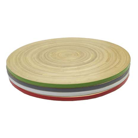 Elements Set of 4 Bamboo Placemats