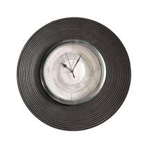 Grey Simplicity Domed Wall Clock