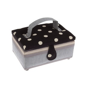 Dots and Stripes Sewing Box