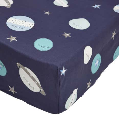 Space Mission 25cm Fitted Sheet