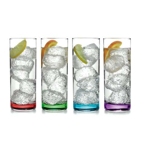 Spectrum Set of 4 Highball Tumblers