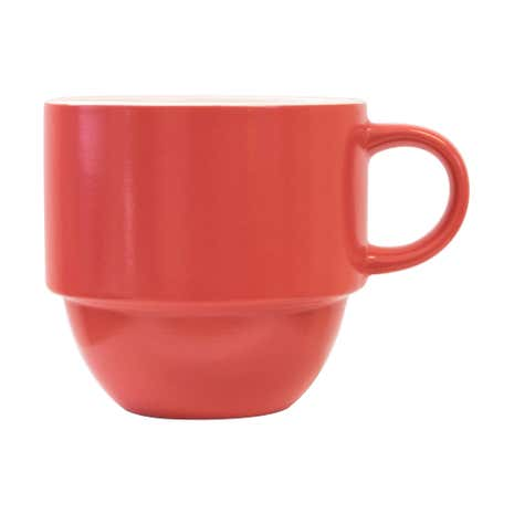 Elements Red Stacking Mug