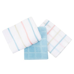 Pack of 5 Pastel Terry Tea Towels