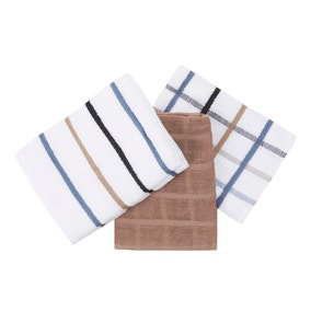 Pack of 5 Simple Terry Tea Towels