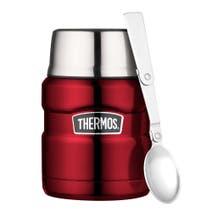 Thermos SS King F/Flask 0.47L Red