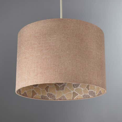 Tribal Giraffe Printed Light Shade