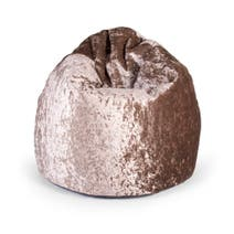 Velvet Hug Gold Bean Bag