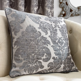 Versailles Charcoal Cushion