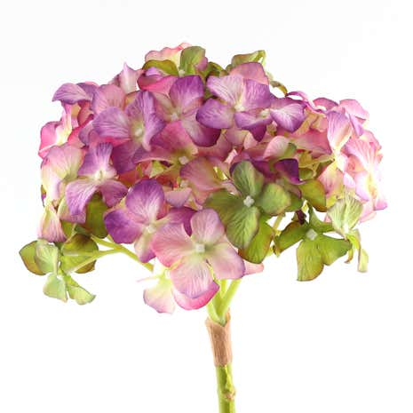 Purple Artificial Hydrangea Spray