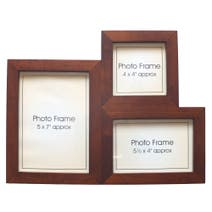 Wooden Multi Aperture Photo Frame
