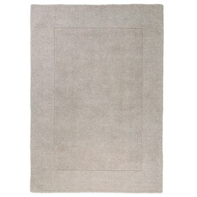 Boston Border Wool Rug