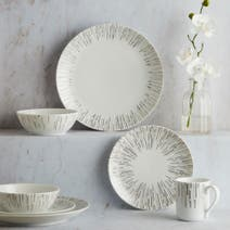 Hotel Glamour 16 Piece Dinner Set
