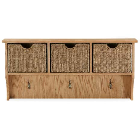 Sidmouth Oak Wall Unit
