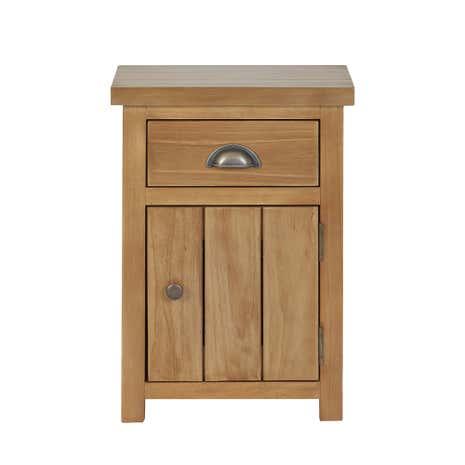harrison pine bedside table dunelm. Black Bedroom Furniture Sets. Home Design Ideas