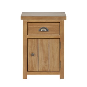 Harrison Pine 1 Drawer Bedside Table