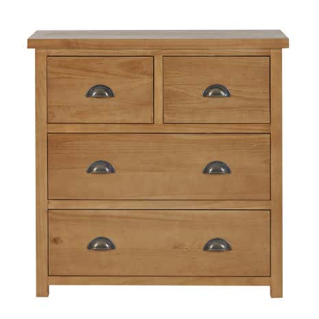 Harrison Pine 4 Drawer Chest