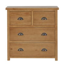 Harrison Pine Four Drawer Chest