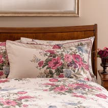 Dorma Lavinia Red Oxford Pillowcase