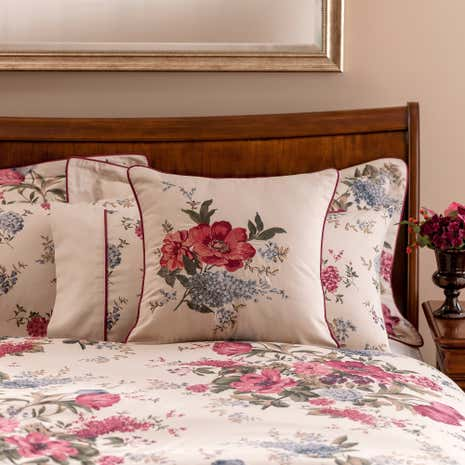 Dorma Lavinia Red Cushion
