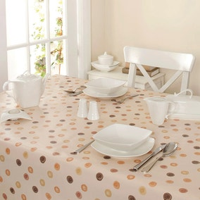Country Spots PVC Tablecloth