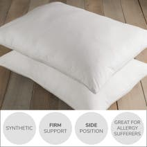 White Hotel Pima Cotton Firm-Support Pillow Pair