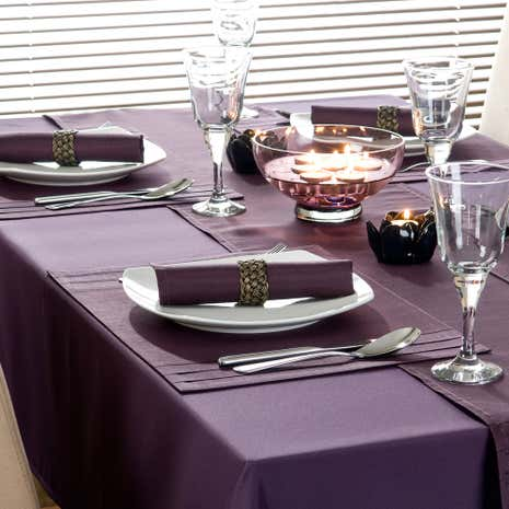 Purple Spectrum Tablecloth