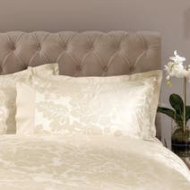 Dorma Champagne Isabelle Cuffed Pillowcase