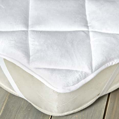Plush Reversible Mattress Topper