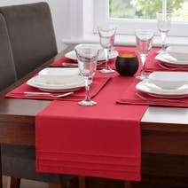 Red Spectrum Table Runner