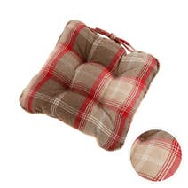 Highland Check Seat pad