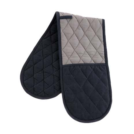 Simplicity Grey Double Oven Glove