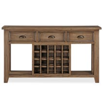 Cole Pine Open Sideboard