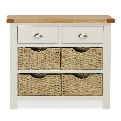 Wilby Cream Console Table