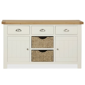 Wilby Cream Large Sideboard