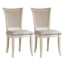 Austin Cream Pair of Dining Chairs